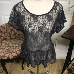 Ransom Lace Top XL